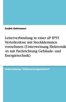 Leiterverbindung in Einer AP Ip55 Verteilerdose Mit Steckklemmen Vornehmen (Unterweisung Elektroniker / -In Mit Fachrichtung Gebaude- Und Energietechnik) (Paperback)