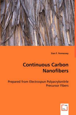 Continuous Carbon Nanofibers (Paperback)