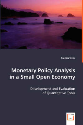 Monetary Policy Analysis in a Small Open Economy (Paperback)