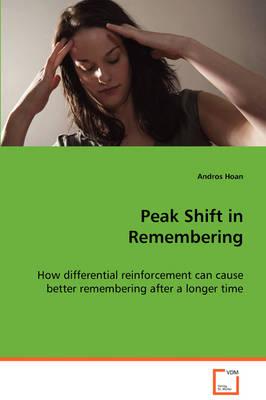 Peak Shift in Remembering (Paperback)