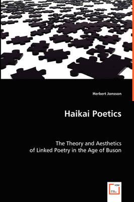Haikai Poetics (Paperback)
