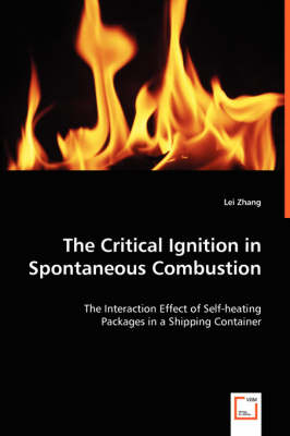 The Critical Ignition in Spontaneous Combustion (Paperback)