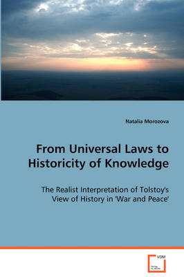 From Universal Laws to Historicity of Knowledge (Paperback)