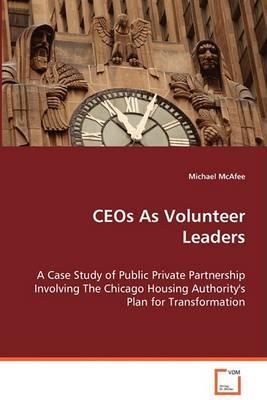 Ceos as Volunteer Leaders (Paperback)
