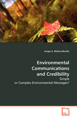 Environmental Communications and Credibility (Paperback)