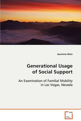 Generational Usage of Social Support (Paperback)