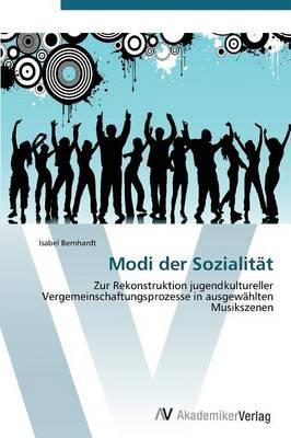 Modi Der Sozialitat (Paperback)