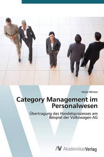 Category Management Im Personalwesen (Paperback)
