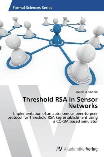 Threshold Rsa in Sensor Networks (Paperback)