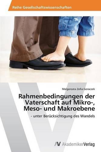 Rahmenbedingungen Der Vaterschaft Auf Mikro-, Meso- Und Makroebene (Paperback)
