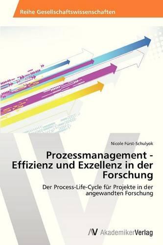 Prozessmanagement - Effizienz Und Exzellenz in Der Forschung (Paperback)