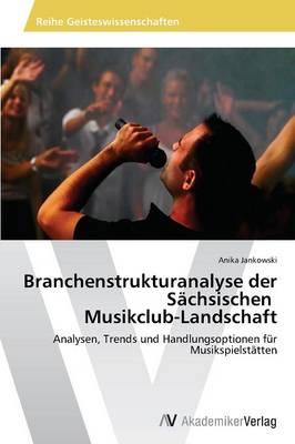 Branchenstrukturanalyse Der Sachsischen Musikclub-Landschaft (Paperback)