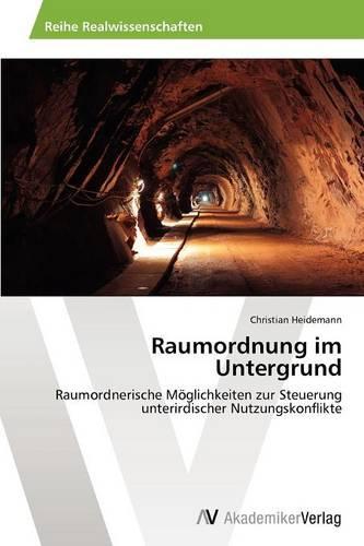 Raumordnung Im Untergrund (Paperback)