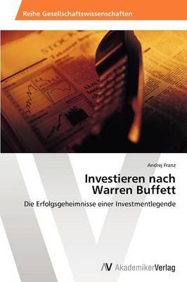 Investieren Nach Warren Buffett (Paperback)