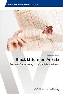 Black Litterman Ansatz (Paperback)