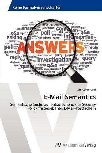 E-mail Semantics (Paperback)