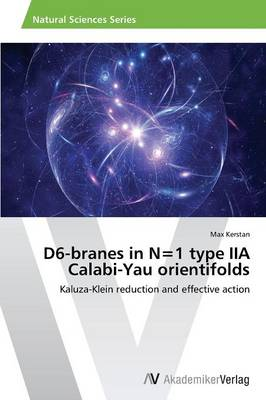 D6-Branes in N=1 Type Iia Calabi-Yau Orientifolds (Paperback)