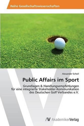Public Affairs Im Sport (Paperback)
