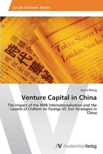 Venture Capital in China (Paperback)