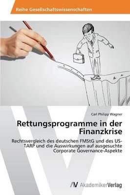 Rettungsprogramme in Der Finanzkrise (Paperback)