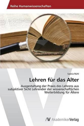 Lehren Fur Das Alter (Paperback)