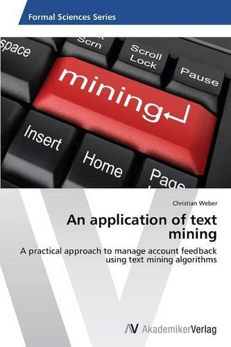 An Application of Text Mining (Paperback)