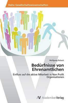 Bedurfnisse Von Ehrenamtlichen (Paperback)