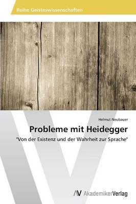 Probleme Mit Heidegger (Paperback)