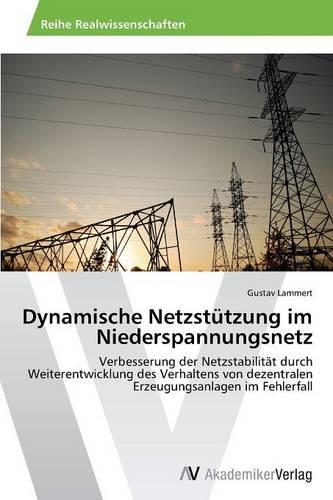 Dynamische Netzstutzung Im Niederspannungsnetz (Paperback)