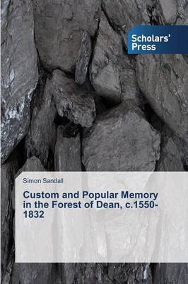 Custom and Popular Memory in the Forest of Dean, C.1550-1832 (Paperback)