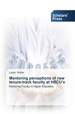 Mentoring Perceptions of New Tenure-Track Faculty at Hbcu's (Paperback)
