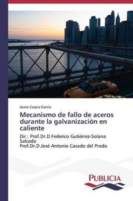 Mecanismo de Fallo de Aceros Durante La Galvanizacion En Caliente (Paperback)