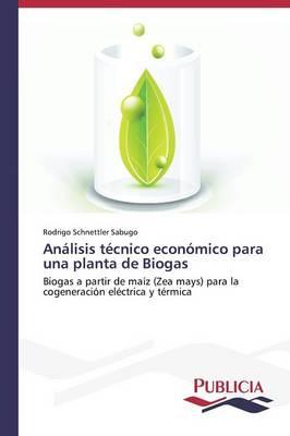 Analisis Tecnico Economico Para Una Planta de Biogas (Paperback)