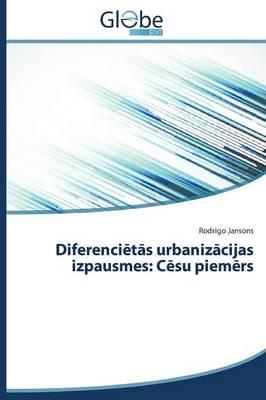 Diferenci T S Urbaniz Cijas Izpausmes: C Su Piem RS (Paperback)