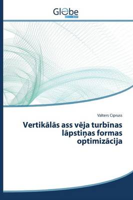 Vertik L S Ass V Ja Turb NAS L Psti as Formas Optimiz Cija (Paperback)