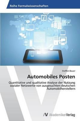 Automobiles Posten (Paperback)