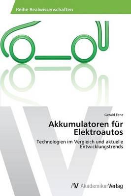 Akkumulatoren Fur Elektroautos (Paperback)
