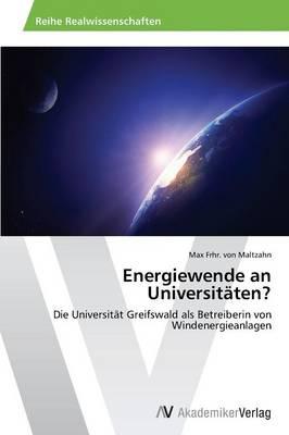 Energiewende an Universitaten? (Paperback)