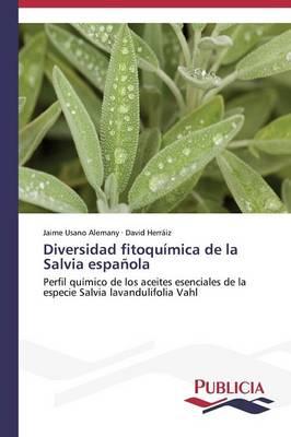 Diversidad Fitoquimica de La Salvia Espanola (Paperback)