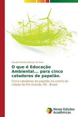 O Que E Educacao Ambiental... Para Cinco Catadores de Papelao. (Paperback)