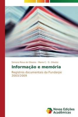 Informacao E Memoria (Paperback)