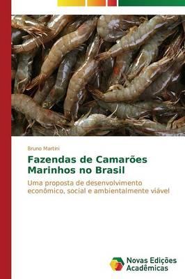 Fazendas de Camaroes Marinhos No Brasil (Paperback)