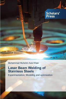 Laser Beam Welding of Stainless Steels (Paperback)