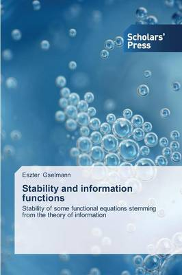 Stability and Information Functions (Paperback)