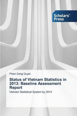 Status of Vietnam Statistics in 2013: Baseline Assessment Report (Paperback)