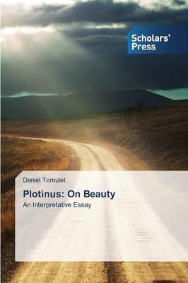 Plotinus: On Beauty (Paperback)