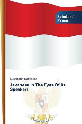 Javanese in the Eyes of Its Speakers (Paperback)