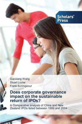 Does Corporate Governance Impact on the Sustainable Return of IPOs? (Paperback)