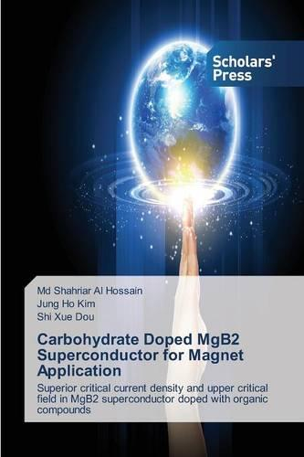 Carbohydrate Doped Mgb2 Superconductor for Magnet Application (Paperback)