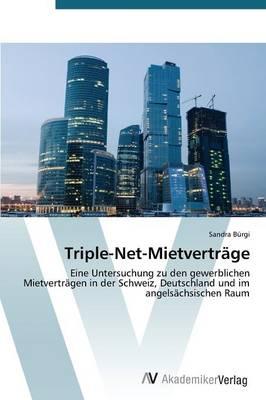 Triple-Net-Mietvertrage (Paperback)